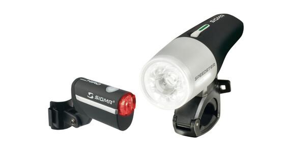 SIGMA SPORT Speedster/Hiro LED Beleuchtungsset schwarz